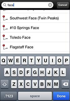 iOS Map App